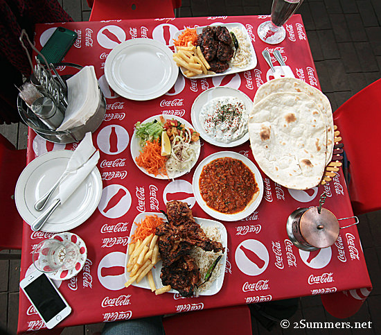 Istanbul lunch